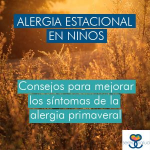 alergia estacional en niños