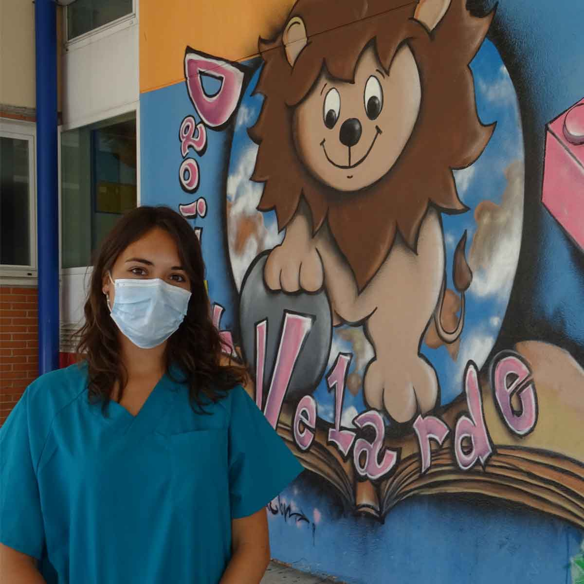 Enfermera Escolar en centro educativo