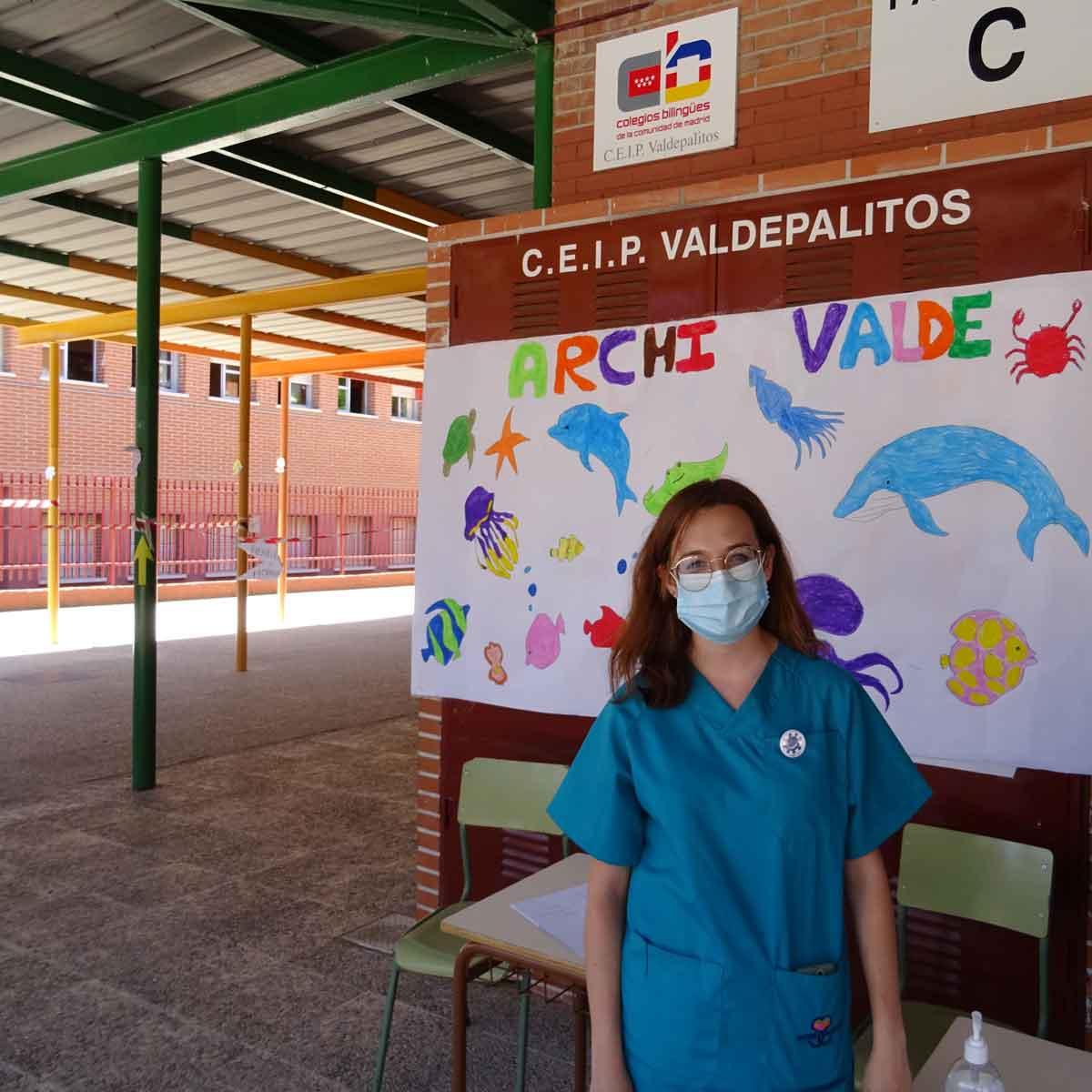 Enfermera Escolar en campamentos de verano