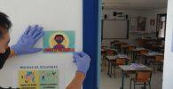 covid en el colegio